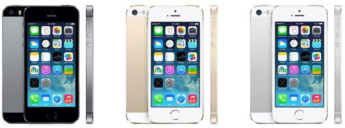 В чем разница между iPhone 5s и 5с