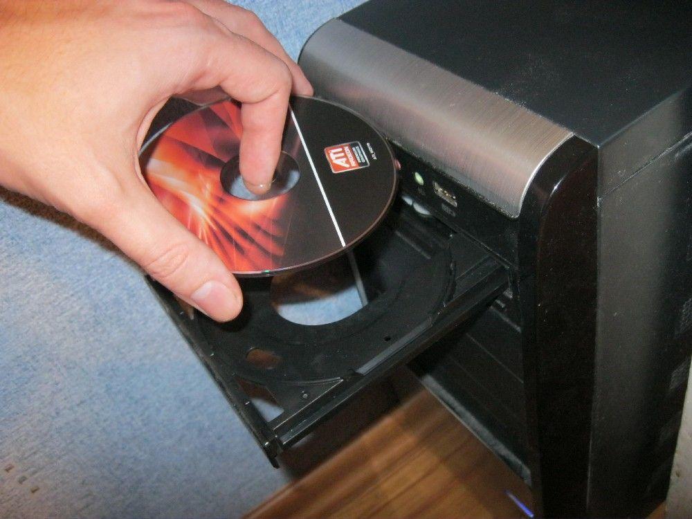 Устанавливаем драйвер на видеокарту